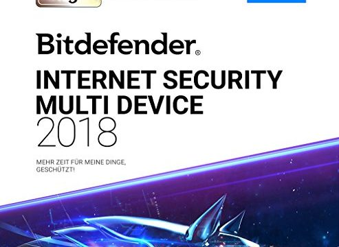 1 Jahr / 5 Geräte + VPN – Bitdefender Internet Security Multi-Device 2018/2019