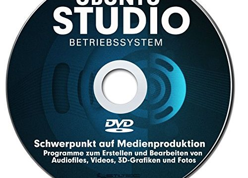 Betriebssystem UBUNTU STUDIO NEU für PC & Notebook NEU auf DVD 32 oder 64 Bit ! Distribution mit Schwerpunkt auf Medienproduktion-PREMIUM ORIGINAL von STILTEC ©