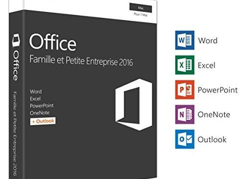 Microsoft Office Famille et Petite Entreprise 2016 | Mac | tlchargement