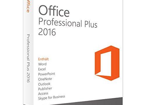 Office 2016 Professional Plus 32/64bit Lizenzschlüssel Code