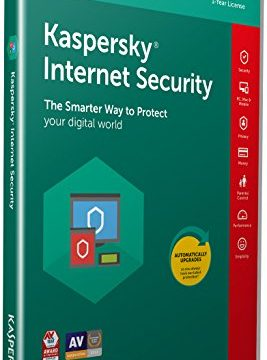Aktivierungscode in Standardverpackung –  Kaspersky Internet Security 2018 | 3 Devices | 1 Year | PC/Mac/Android