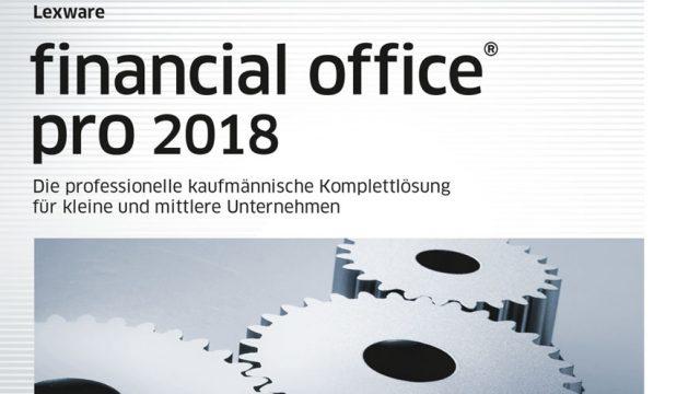 Lexware financial office 2018 plus-Version PC Download Jahreslizenz|Einfache kaufmännische Komplett-Lösung für Freiberufler und kleinere Unternehmen|Kompatibel mit Windows 7 oder aktueller