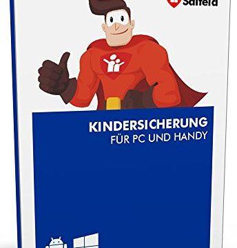 Salfeld Kindersicherung 2018: Windows und Android Handy Kinderschutz Jugendschutz App mit Überwachung Zeitbegrenzung App Kontrolle und Internet Filter gegen Handysucht 3 Geräte / 24 Monate