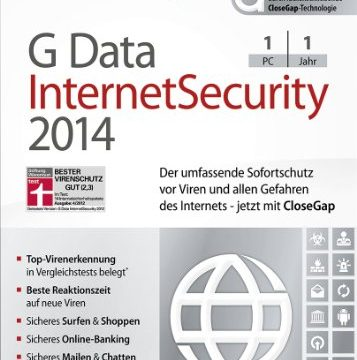 1 PC Download – G Data Internet Security 2014