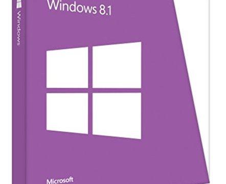 Microsoft Windows 8.1 EN 64 bit