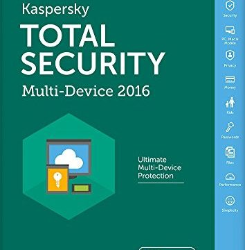 Kaspersky Total Security 2016 Multi Device 5 Devices, 1 Year FFP PC DVD/Mac