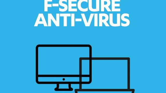 F-Secure Anti-Virus 2016 PC – 1 Jahr / 1 Computer Online Code