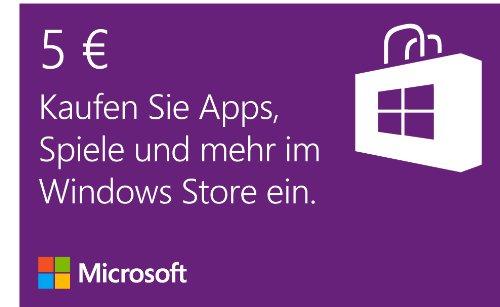 5 EUR Guthaben Online Code Online Code – Windows Store