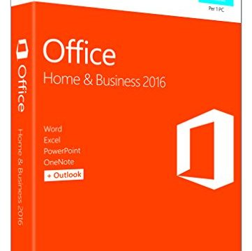 MS Office Home and Business 2016 Win P2 EuroZone Medialess Italian IT