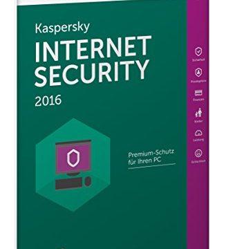5 PCs / 1 Jahr Frustfreie Verpackung – Kaspersky Internet Security 2016
