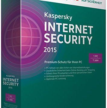 Kaspersky Internet Security 2015 – 1 PC