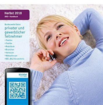 klickTel Telefon- und Branchenbuch Herbst 2018