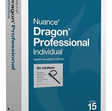 Nuance K809X-XN9-15.0 Dragon Professional Individual Version 15 Wireless Software