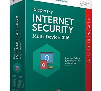 Kaspersky Internet Security Multi-Device 2016 – 3 Geräte / 1 Jahr