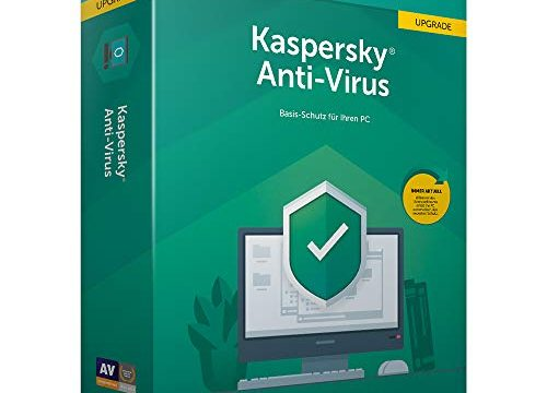 Kaspersky Anti-Virus 2019 Upgrade Code in a Box Mini-Box|Upgrade|1|1 Jahr|PC|Download|Download