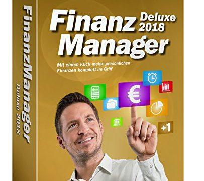 Lexware FinanzManager Deluxe 2018, in frustfreier Verpackung, Einfache Buchhaltungs-Software für private Finanzen und Wertpapier-Handel, Kompatibel mit Windows 7 oder aktueller