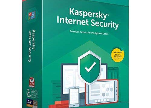 Kaspersky Internet Security 2019 5 Geräte MiniBox|Standart|5|1 Jahr|PC/Mac/Android|Download|Download