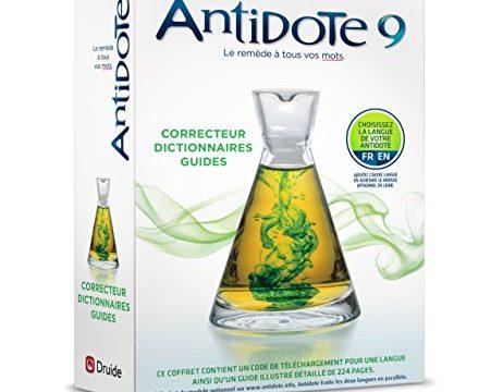 Antidote 9: Rechtschreibprüfung und Wörterbücher für Französisch oder Englisch