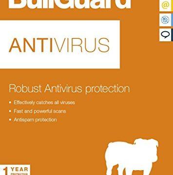 3 PC – Für alle Windows – Bullguard Antivirus Neueste Edition – 1 Jahr