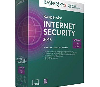 Kaspersky Internet Security 2015 Upgrade – 1 PC