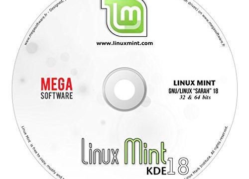 32 & 64 bits – DVD – KDE – Linux Mint 18 Live
