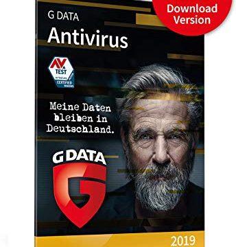 G DATA Antivirus 2019 für 3 Windows-PC / 1 Jahr / vielfach ausgezeichneter Virenscanner / Antivirensoftware / Trust in German Sicherheit Download