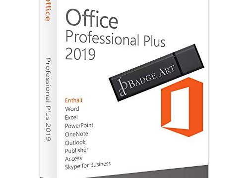 Microsoft Office 2016 Professional Plus ESD elektronischer Software-Download Vollversion, KEINE DVD / USB