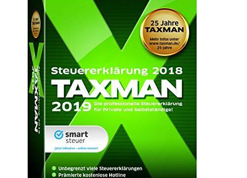Lexware Taxman 2019 Minibox Übersichtliche Steuererklärungssoftware für Arbeitnehmer, Familien, Studenten und im Ausland Beschäftigte Kompatibel mit Windows 7 oder aktueller