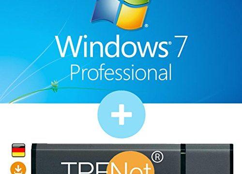 Original Lizenzschlüssel mit bootfähigen USB Stick von – Microsoft® Windows 7 Pro ISO USB. 32 bit & 64 bit – TPFNet®