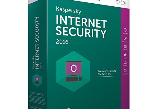 Kaspersky Internet Security 2016 – 1 PC / 1 Jahr