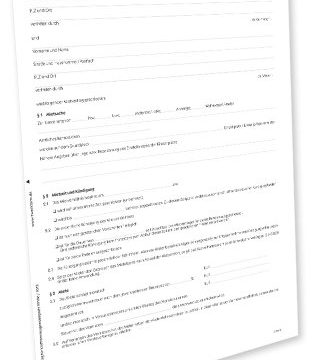 Avery Zweckform 2212e Mietvertrag Garage/Stellplatz Word-Download Mac