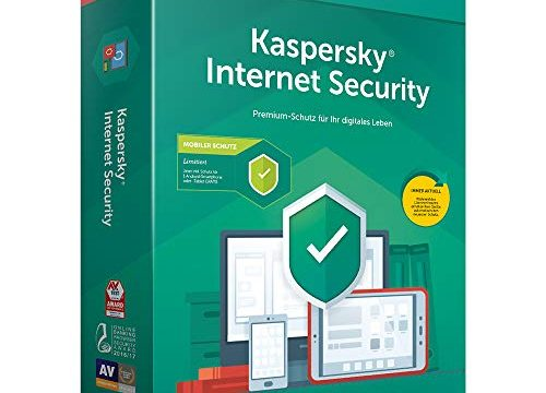 Kaspersky Internet Security 2019 Standard | 1 Gerät | 1 Jahr | Limitiert: + Android-Schutz | Windows/Mac/Android | Box | Download