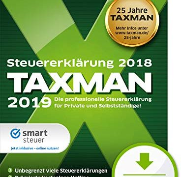 TAXMAN 2019 | Standard | PC | PC Aktivierungscode per Email