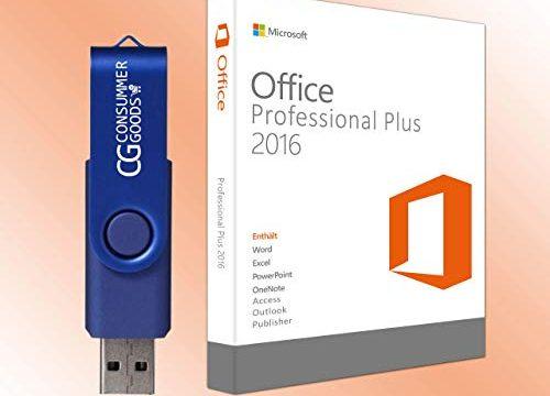 Microsoft Office 2016 Professional Plus auf ein ISO USB für 32 / 64 mit Lizenzschlüssel