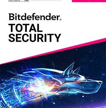 Inkl. VPN – Bitdefender Total Security Multi Device 2019 – 1 Jahr / 10 Geräte für Multi Plattform PC, Mac, Android und iOS