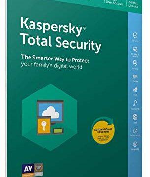 Kaspersky Total Security 2019 | 3 Geräte | 2 Jahr | in allen europäischen Sprachen einsetzbar | Verkaufsverpackung