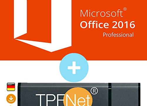 Original Lizenzschlüssel mit USB Stick von – Microsoft® Office Professional 2016 32 bit & 64 bit – TPFNet®