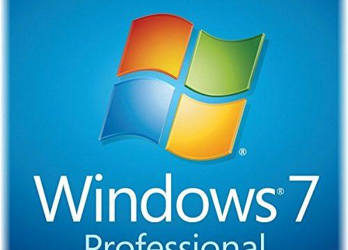 Windows 7 Professionnel 64 bits + clé activation