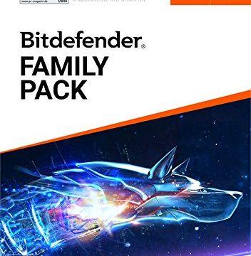 Bitdefender Family Pack 2019 – 3 Jahre / Unlimitiert für PC – Inkl. VPN