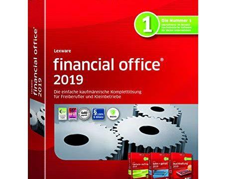 Lexware financial office 2019 basis-Version Minibox Jahreslizenz|Einfache kaufmännische Komplett-Lösung für Freiberufler, Selbständige und Kleinunternehmen|Kompatibel mit Windows 7 oder aktueller