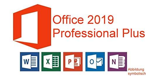 Microsoft® Office 2019 Professional Plus Deutsch für 1 PC 32/64-Bit Lizenzschlüssel mit USB Stick von Hesch-Direkt