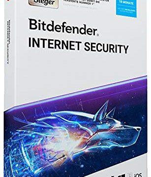 Bitdefender Internet Security 2019 | 1 PC | 18 Monate DVD-Version
