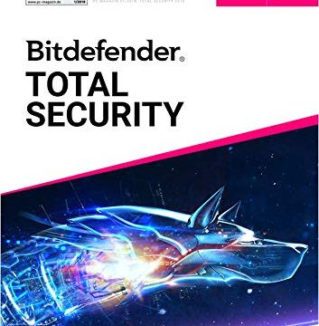 Bitdefender Total Security Multi-Device 2019 | 3 Geräte | 18 Monate | DVD