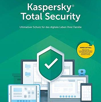 Kaspersky Total Security 2019 | 10 Geräte | 1 Jahr I Download I E-Mail