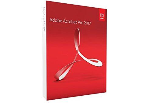 Adobe Acrobat Pro 2017 Mac Disc
