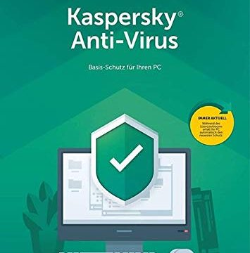 Kaspersky Anti Virus 2019 | 1 Gerät | 1 Jahr I Download I E-Mail