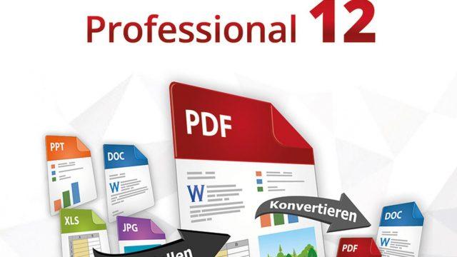 Erstellen und Konvertieren von PDF-Dateien! Windows 10|8|7 Online Code – PDF Experte 12 Professional