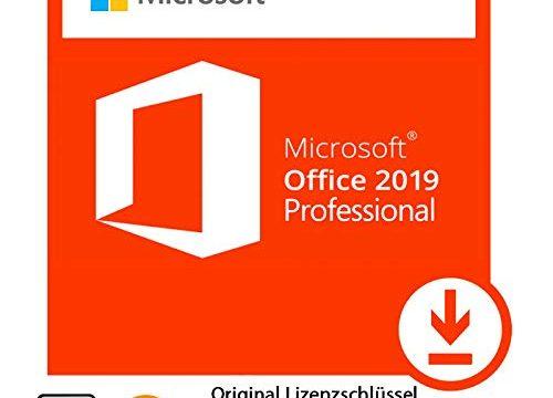 Microsoft® Office 2019 Professional 32 bit & 64 bit Vollversion Original Lizenzschlüssel per Post und E-Mail + Anleitung von TPFNet® – Versand maximal 60Min