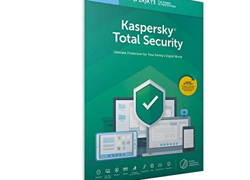 Kaspersky Total Security 2019 | 5 Geräte | 2 Jahr | PC/Mac/Android