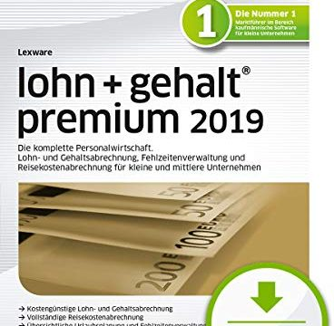 Lexware lohn+gehalt premium 2019 Download Jahresversion 365-Tage